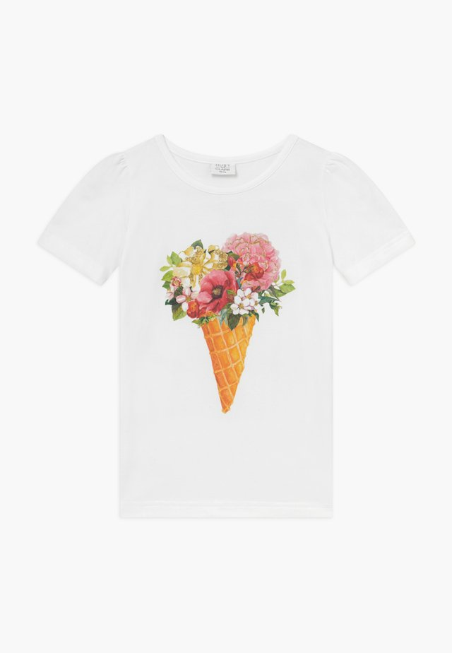 ADANE - T-shirts med print - white