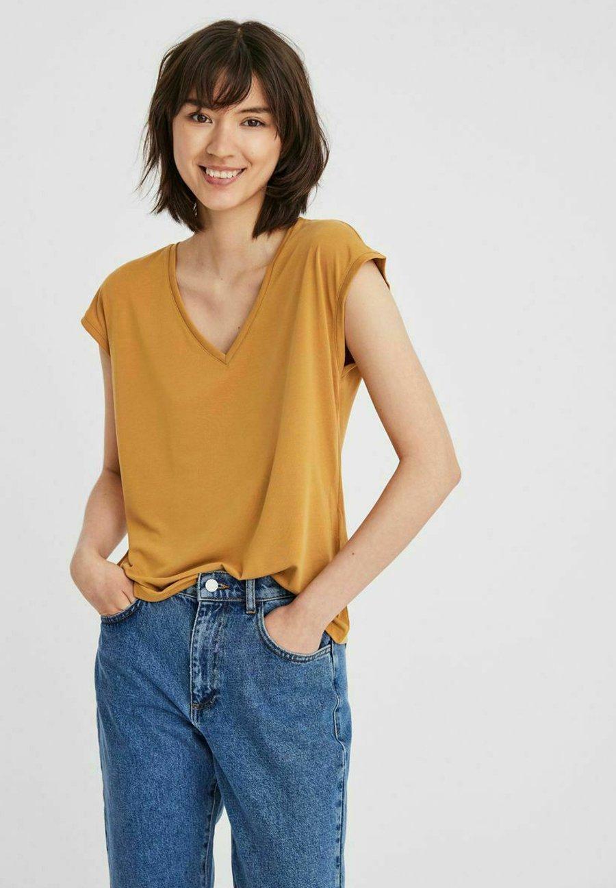 Mujer V-AUSSCHNITT - Camiseta básica