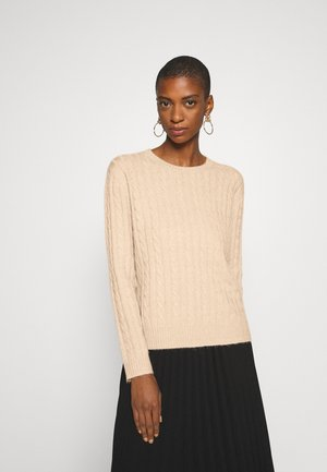 CABLE SPONGY JUMPER - Jumper - brazilian sand