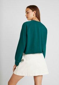 Monki - ESTRID - Sweatshirt - dark green - 2
