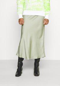 Glamorous - PALOMA MIDI SKIRT - Áčková sukně - pistachio - 0