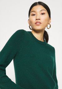 edc by Esprit - FITTED PUFFY - Jumper - dark teal green - 4