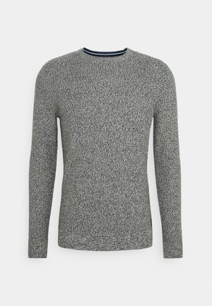Sweter - grey/white mouline