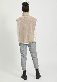 Object - Waistcoat - beige - 2