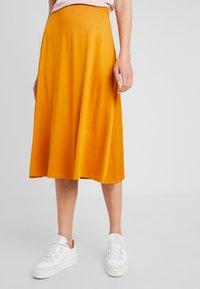 Anna Field - A-line skirt - inca gold - 0