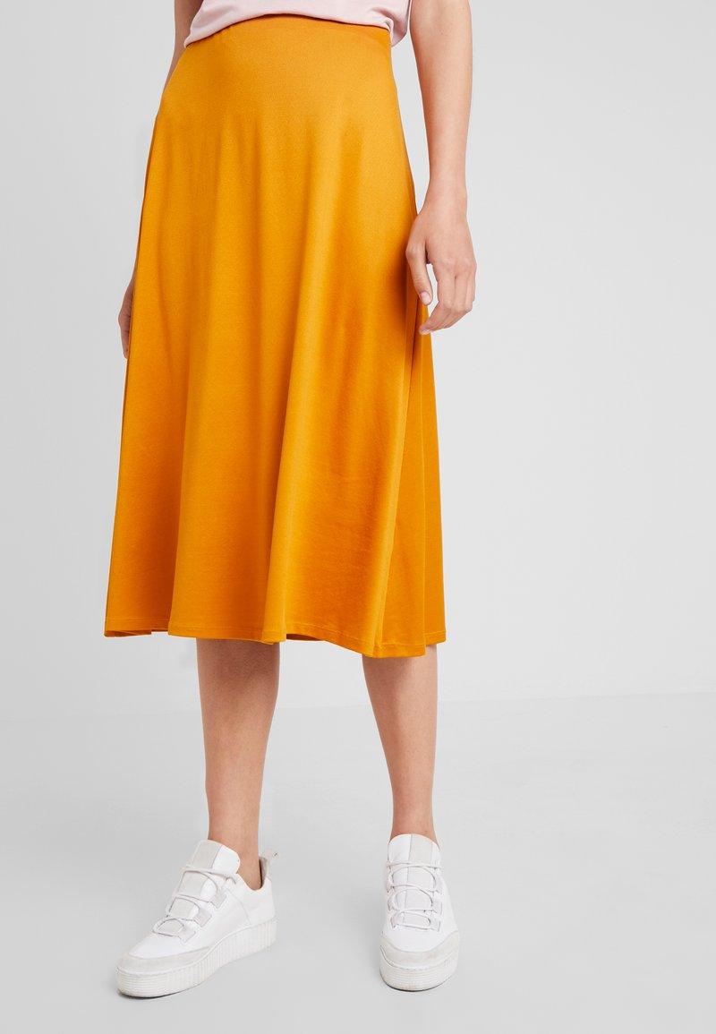 Anna Field - A-line skirt - inca gold