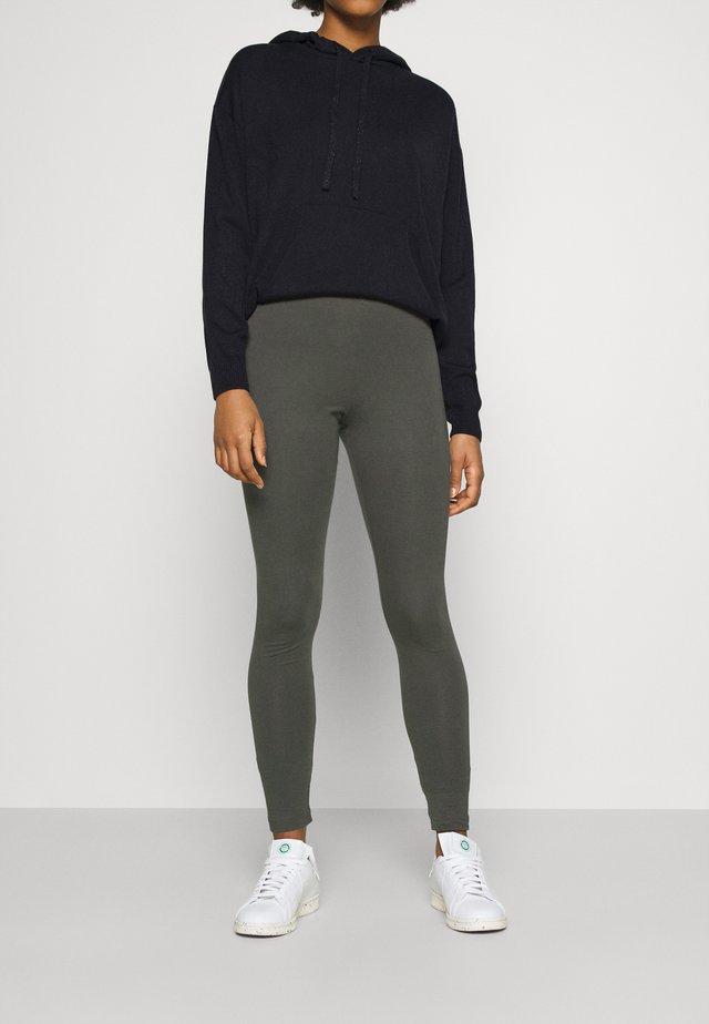 MEI - Leggings - Trousers - grey dark