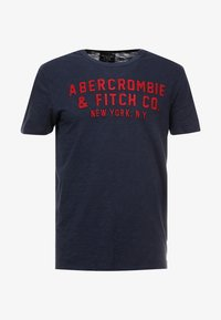 Abercrombie & Fitch - LEGACY APPLIQUE  - Printtipaita - navy - 3