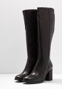 MJUS - Vysoká obuv - nero - 4