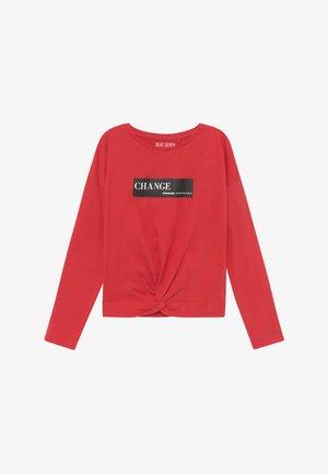 TEENS FUTURE CHANGE - Long sleeved top - rot