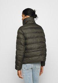 G-Star - WHISTLER PUFFER - Winter jacket - asfalt - 3