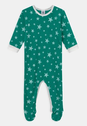 DORS BIEN ZIP - Sleep suit - gazon/ecume