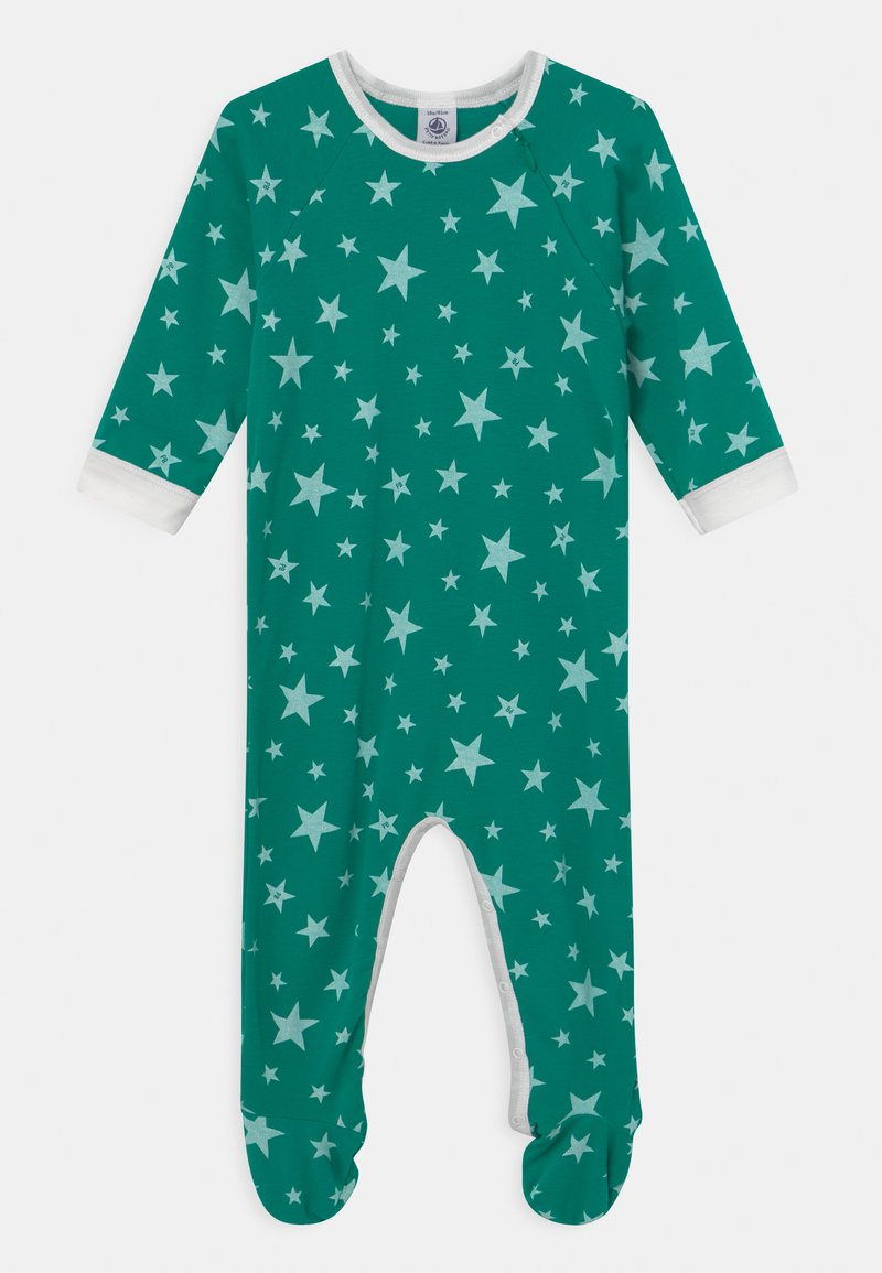 Petit Bateau - DORS BIEN ZIP - Sleep suit - gazon/ecume
