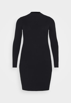 PCJADE NECK DRESS - Shift dress - black