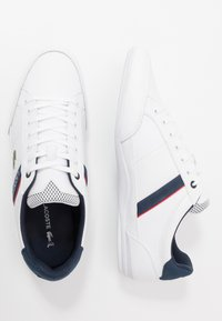 Lacoste - CHAYMON - Trainers - white/navy/red - 1