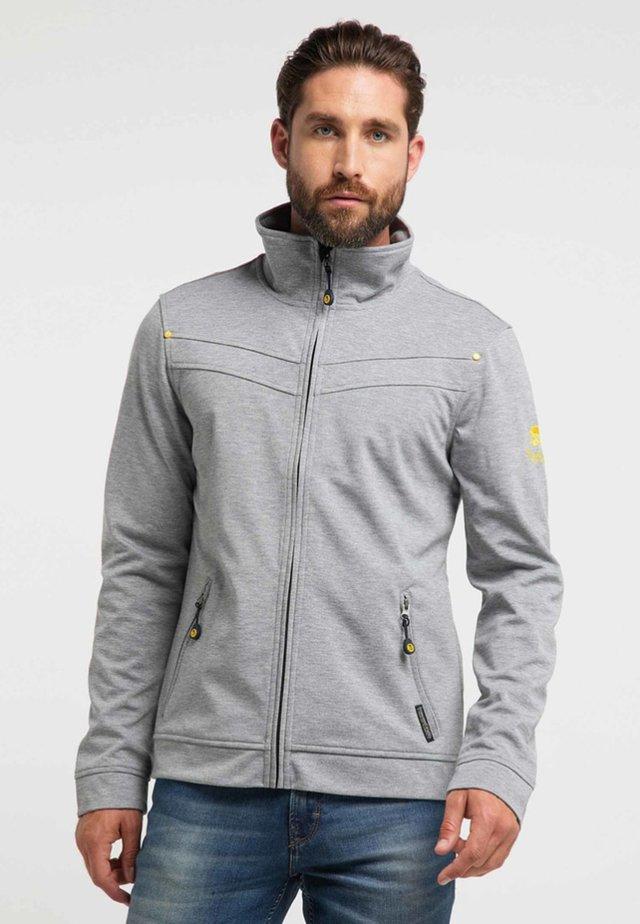 Outdoorjas - mottled grey