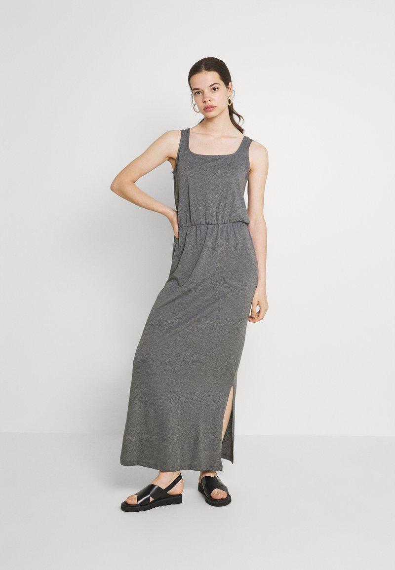 Vero Moda - VMADAREBECCA ANKLE DRESS - Maxi dress - medium grey melange