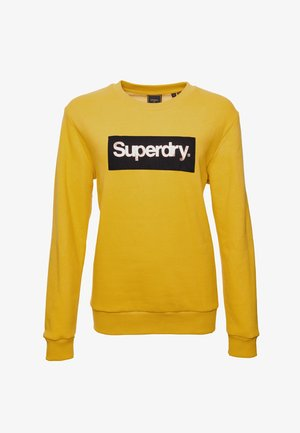 CORE LOGO - Sweatshirt - yolk yellow