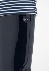 IGOR - PIPO NAUTICO UNISEX - Bottes en caoutchouc - marino/navy - 2