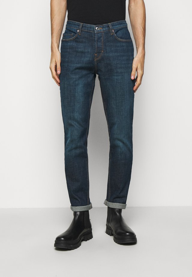 DAVID ECO OLD - Džíny Slim Fit - bleu