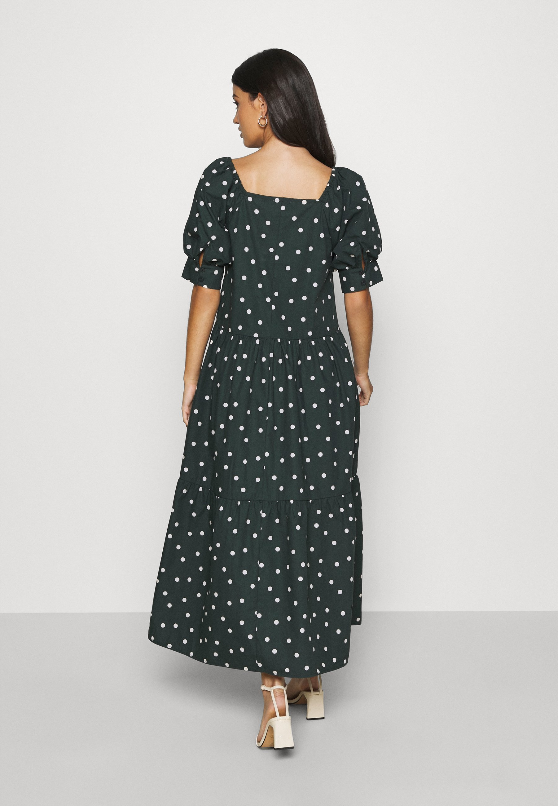 Fashionable Wholesale EDITED JILL DRESS - Maxi dress - dark spruce   women's clothing 2020 DasTM