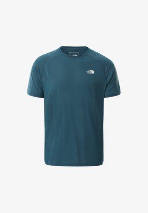 T-shirt con stampa - mallard blue
