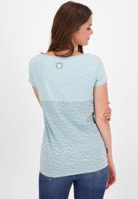 alife & kickin - Print T-shirt - ice - 2