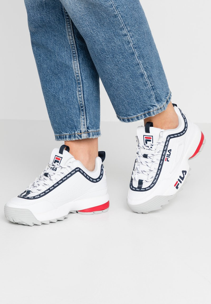 Fila - DISRUPTOR LOGO - Baskets basses - white