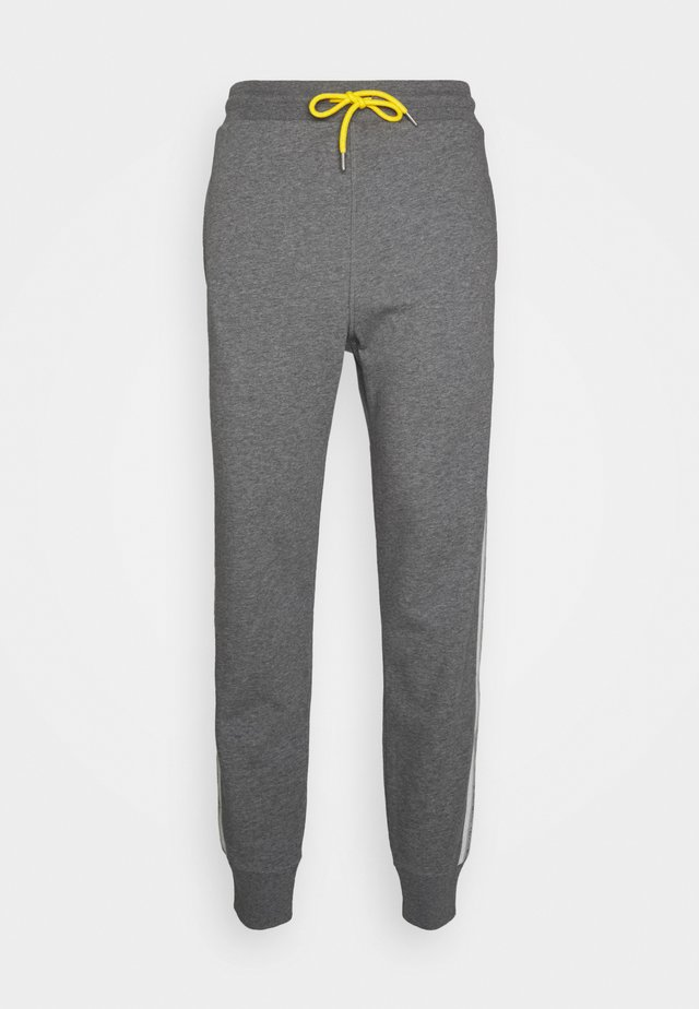 PETER TROUSERS - Trainingsbroek - dark grey melange