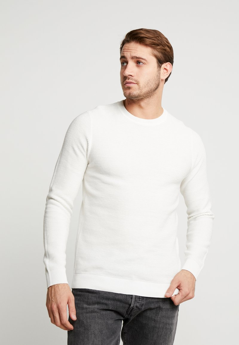 Jack & Jones - JELIAM CREW NECK - Maglione - jet stream