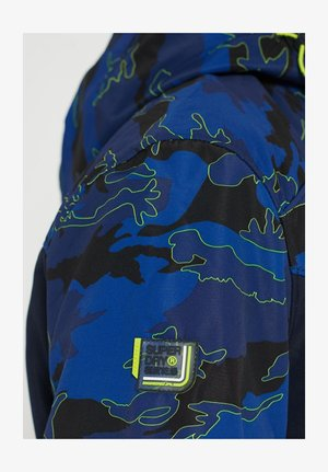 PARALEX SD - Summer jacket - blue tone camo/navy