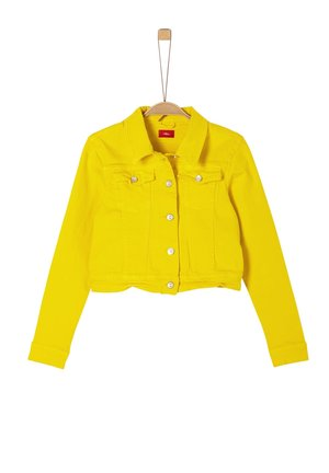 Denim jacket - yellow