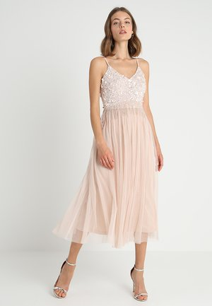 RIRI MIDI - Cocktail dress / Party dress - nude