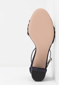 HUGO - APRIL - Sandals - dark blue - 6