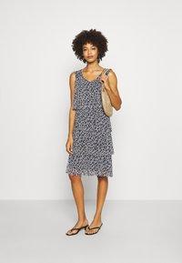 comma - Day dress - dark blue - 1