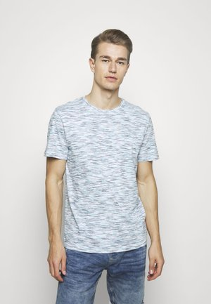 T-shirts print - white blue space dye