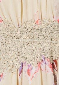 VILA PETITE - VIMILINA FLOWER MAXI DRESS - Maxi dress - birch/lana - 2