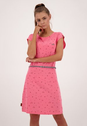 ELLIAK - Day dress - salmon
