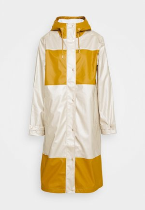 TRUE RAINCOAT - Waterproof jacket - platin