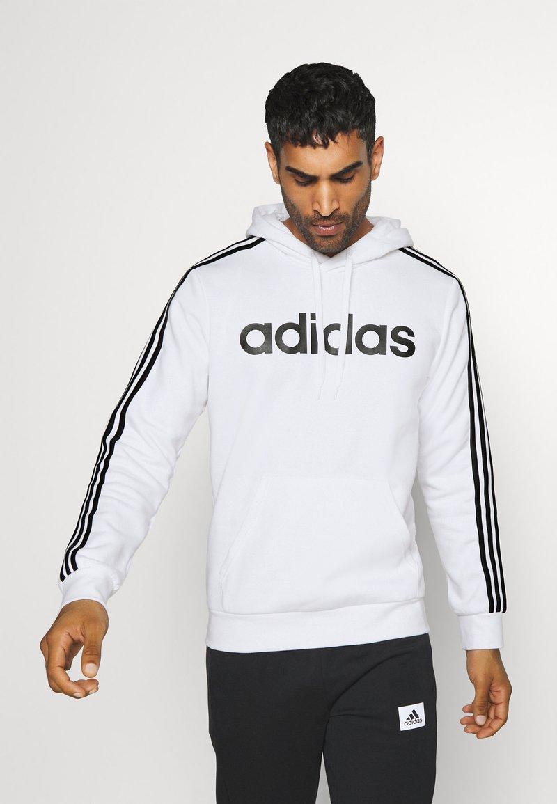 adidas Performance - Hættetrøjer - white/black