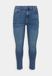 Even&Odd Curvy - Jeans Skinny Fit - blue denim - 0