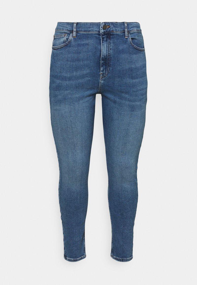 Even&Odd Curvy - Jeans Skinny Fit - blue denim