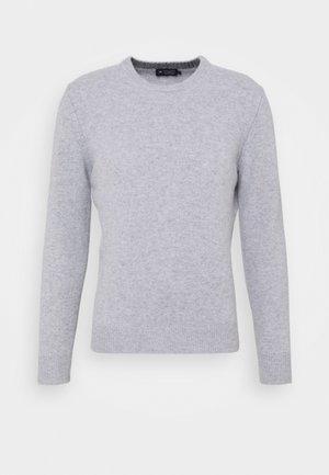 CREW - Strikkegenser - light grey