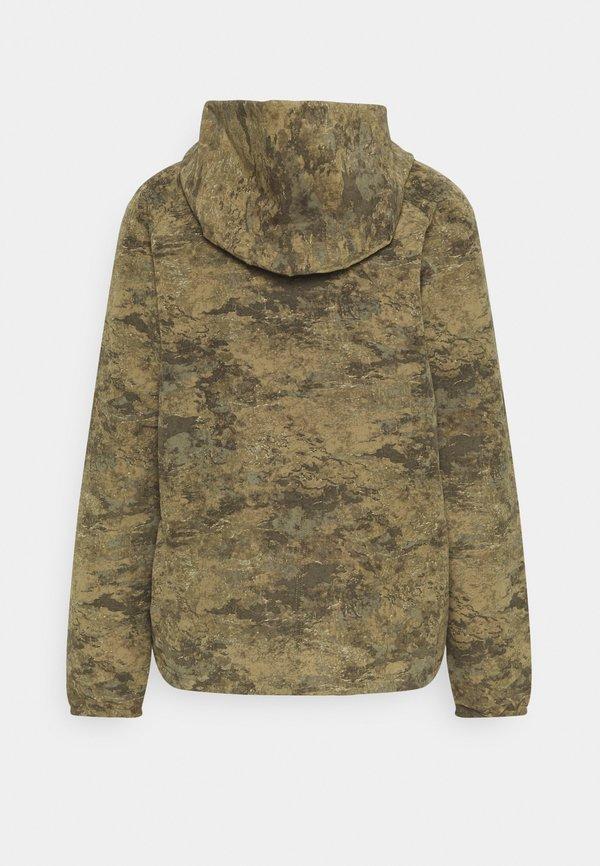 The North Face PRINTED CLASS FANORAK - Kurtka Outdoor - olive/oliwkowy Odzież Męska CYYJ