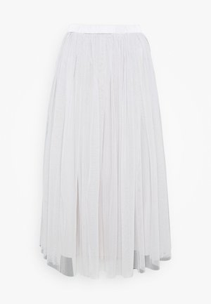 VAL SKIRT - A-line skirt - light grey