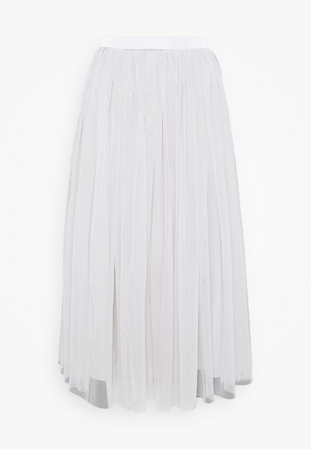 VAL SKIRT - A-linjainen hame - light grey