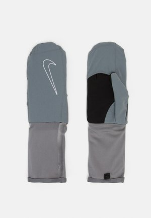 WOMENSTRANSFORM RUNNING GLOVES - Fingerhandschuh - smoke grey/black/silver