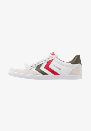 SLIMMER STADIL - Trainers - white/green