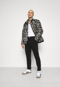 Topman - ANIMAL BORG JACKET - Winter jacket - grey - 1