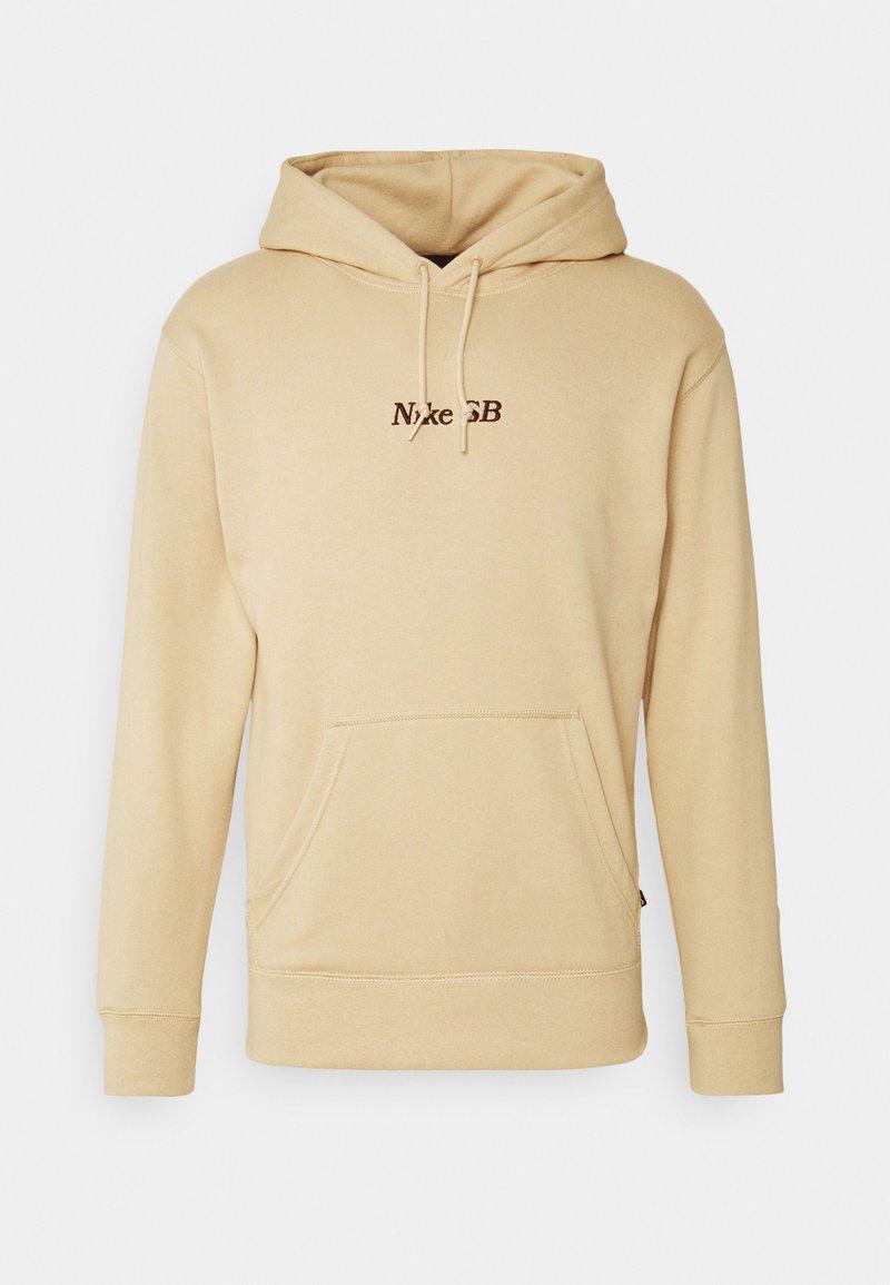 Nike SB - CLASSIC HOODIE UNISEX - Sweatshirt - grain